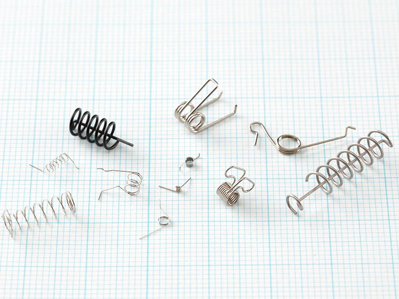 製品画像:捻りコイル&ワイヤーフォーミング - ミクロ発條